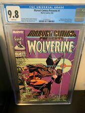 Marvel Comics Presents #1 CGC 9.8 NM/M White Pages