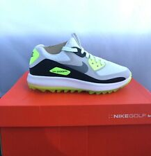 Nike Air Zoom 90 It Golf Shoes Womens Sz 9 White Grey Volt 844648-101