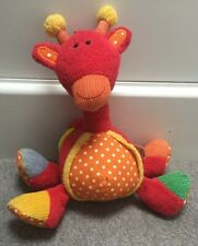Jelly Kitten Jellycat Red Giraffe Baby Soft Toy Comforter Hoopy Teether Boing