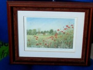 Limited Edition Print Looking Towards Dedham Essex by Josette Chatten