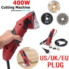 Portable Electric Saw Multi-function Mini Circular Saw Cutting Tool w/3 Blades