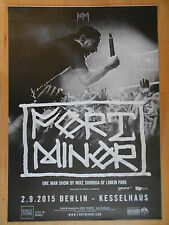 FORT MINOR  -  LINKIN PARK 2015 BERLIN -  orig.Concert-Konzert-Poster-Plakat NEU