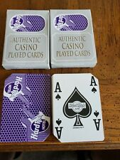 2 Decks Hard Rock Casino Las Vegas Playing Cards.