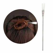 Retro Chinese Classic Flower Hairpin Women Hair Accessory White Jade Stick Gift