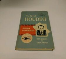Book The Great Houdini By Beryl Williams And Samuel Epstein - Ex Library