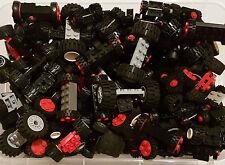 LEGO® 10 Achsen Komplett mit Reifen Räder Tires / = über 30 Teile kg Konvolut #8