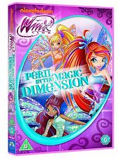 Nickelodeon Winx Club : Peril In The Magic Dimension - New DVD Childrens Fairies