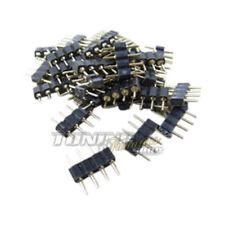 5x RGB Tira LED SMD PCB Conector Del Cable Conector Adaptador Para Barra / S