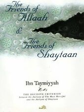 The Friends of Allah & the Friends of Shaytan PB by ibn Taymiyyah Islamic Book