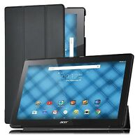 """Premium Slim Folding Cover Case for 10.1"""" Acer  Iconia One 10 B3-A20"""