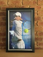 Novak Djokovic Signed and Framed Tennis Ball - Limited Edition