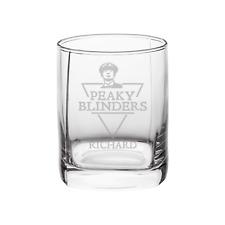Personalised Peaky Blinders Whisky Glass By Order Of Peaky Blinders Whiskey Gift