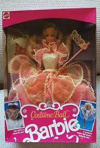 Costume Ball Barbie 1990 Mattel NIB NOS