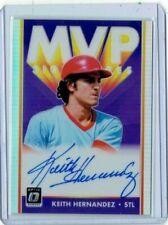 Keith Hernandez 2019 Donruss Optic MVP Prizm Auto/Autograph Card