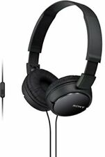 Sony MDRZX110AP Extra Bass Smartphone Headset with Mic (Black) ZX Series