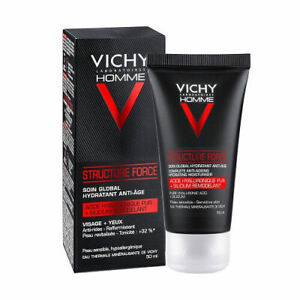 Vichy Homme Men Structure Force Complete Anti Ageing Hydrating Moisturiser 50ml