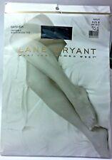 """LANE BRYANT DAYSHEER NAVY SIZE B 5'-5'5"""" PANTYHOSE 235-300 LBS. REINFORCED TOE"""