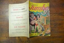FUMETTO SUPER JUMBO SUPPLEMENTO AL n. 12 3 OTTOBRE 1950 COMPLETO