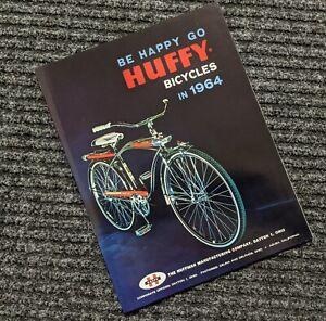 HUFFY 1964 Bicycle Sales Catalog  - ORIGINAL Dragster - 64 Bike Complete Line