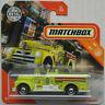 Matchbox Seagrave Fire Engine signalgelb Oldtimer Feuerwehr Neu/OVP Truck MBX