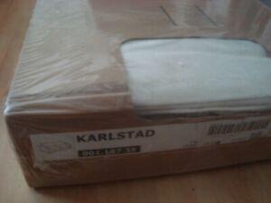 IKEA Cover for Karlstad Sofabed Sofa-Bed Slipcover BLEKINGE WHITE NIB