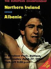 EM-Qualifikation 27.04.1983 Nordirland - Albanien