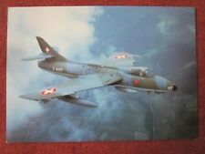 MUSEUM DUBENDORF AIR FORCE MUSEE AVIATION SUISSE HAWKER HUNTER