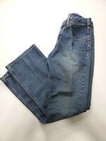 Silver Jeans Mens Comfort Blue Denim Bootcut Blue Jeans Size 28/30 L9028THTSU