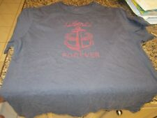 J. Crew T-Shirt - Blue - Large - Anchor Logo