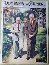 La Domenica del Corriere 4 Ottobre 1959 Nazareth Psicosi Albertazzi May Britt