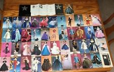 45 Gene Marshall doll and  outfit collectors cards -all different -