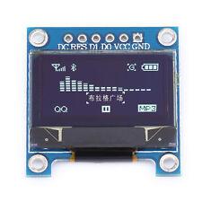 """WHITE 128 X 64 OLED LCD LED Display Module Arduino 0.96"""" I2C IIC HELI 80 B"""