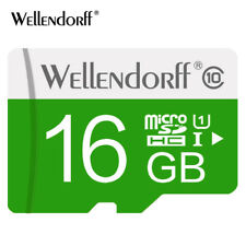 Wellendorf Class 10 Micro SD 16GB Fast Data Transfer with free Card Adapter