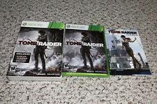 Tomb Raider (Microsoft Xbox 360, 2013) Complete