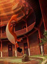 POSTER BIG FISH & BEGONIA AND DA YU HAI TANG CHUN MOVIE FANTASY LOCANDINA #5