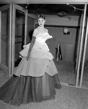 8x10 Print Audrey Hepburn Beautiful Evening Gown #AH92