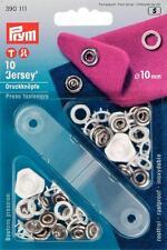 Prym Jersey Druckknöpfe Zackenring weiß 10mm