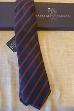 MAESTRI  SARTORI cravatta - tie - 100% pura lana made in Italy