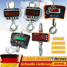 500/1000/3000/5000KG Kranwaage Industriewaage Hängewaage Crane Scale mit Akku DE