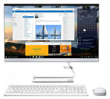 "Lenovo IdeaCentre AIO 3 24IMB05 23.8"" (1TB HDD, Intel Pentium Gold, 3.40 GHz, 8GB, 11ax) All-in-One PC - Foggy White - F0EU00F4AU"