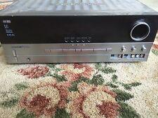 Harman Kardon AVR 135 6.1 Channel 240 Watt Receiver Bundle Remote 6 Speakers