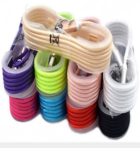 9-Color 4FT USB Braided Cord For iPhone 6S 7 8 Plus X Xs Max Sync Charger Cable