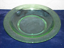 Fostoria Seville Soup Bowl As Is  Green