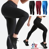 Women Compression Tights Fitness Pants Run Sports Gym Yoga Base Layer Pants X203