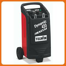TELWIN 829382 Caricabatterie Avviatore DYNAMIC 420 START - 12/24V  auto furgoni
