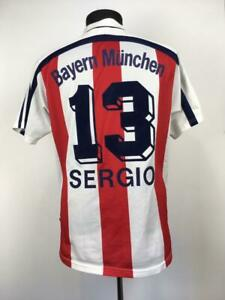 BAYERN MUNICH 1998/2000 AWAY FUßBALL TRIKOT FOOTBALL SHIRT SOCCER JERSEY #13