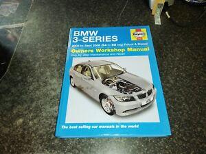4782 BMW 3 SERIES 2005-2008 HAYNES WORKSHOP MANUAL