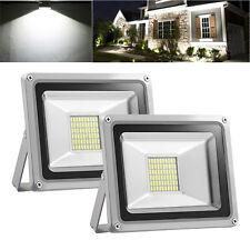 2X 30W LED Flood Light Cool White Outdoor Lighting Garden Lamp Spotlights DC12V