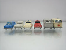 Wiking H0 Nice lot 6 Volkswagen Cars 1/160 Scale Plastic Good Condition
