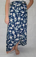 Long Floral 100% Cotton Skirts for Women